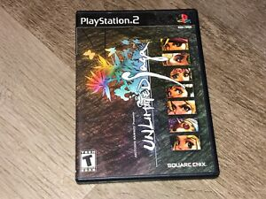 Unlimited Saga PlayStation 2 PS2 w/Case Authentic