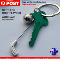 Golf Keyring Golfer Prize Best Golf Player Keychain Golf Club Gift For Golfer AU