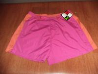 New Womens Size XL 18 Energy Zone Pink Orange Casual Athletic Shorts