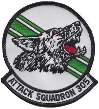 attack squadron 305 va-305 STATI UNITI NAVY RESERVE USNR PATCH RICAMATO