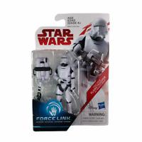 Star Wars Last Jedi First Order Flametrooper Force Link Action Figure