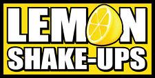 2'x4' Vinyl Banner Lemonade Sign New - Lemon Shake-Ups