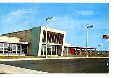 Glass House Restaurant Building-Indiana Toll Road-Vintage Postcard