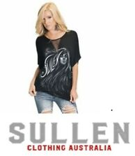NEW SULLEN ANGELS ICED LIPS TOP Shirt  T-Shirt Free Post