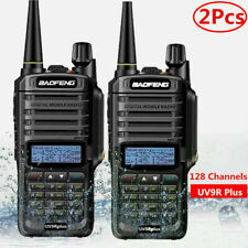 Baofeng UV-9R Plus Walkie Talkie VHF UHF Dual Band 18W Handheld Two Way Radio US