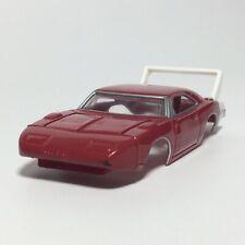 Auto World '69 Dodge Hemi Daytona Body, Vermilion Red, Fits AFX Chassis