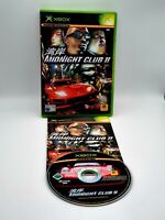 Midnight Club II / 2 - - Microsoft Xbox Original Pal - With Manual - Tested