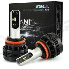JDM ASTAR 2 X H8 H9 H11 6000K 7600LM LED headlight Kit Hi/Lo Beam Bulbs Pair 30W