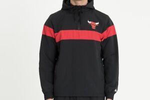 New Era - NBA Chicago Bulls Jacket Gr M Neu Jacke College Schwarz Windbreaker