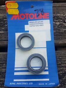 Motoline Fork Oil Seals X2 Pair - 29x41x11