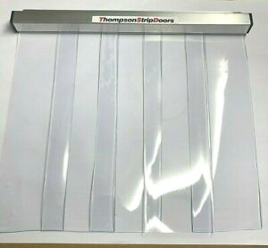 Pet Door - Strip Door - Clear PVC - 350mm w x 500mm l - Other sizes available