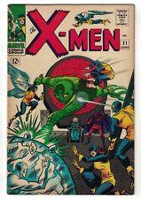 Marvel Comics Xmen X men 21 FN 6.0 1966 magneto cyclops Dominus