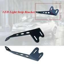 2PCS Black Off-road Vehicle Motorcycle Car Roof LED Light Strip Mounting Bracket