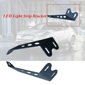 Off-road Roof LED Light Strip Bracket Motorbike Car Upper Bar Mounting Bracket