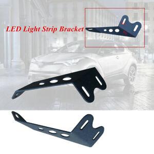 Off-road Roof LED Light Strip Bracket Motorbike Car Upper Bar Mounting Bracket