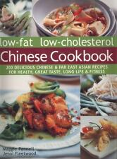 Low-Fat Low-Cholesterol Chinese Cookbook: 200 Delicious Chinese & Far East Asian