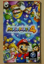 Manual Instructions Mario Party 4 Nintendo Game Cube