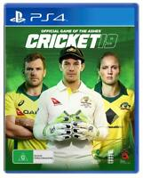 Cricket 19 2019 Official Game Of The Ashes Sony PS4 Playstation 4 Sports Game