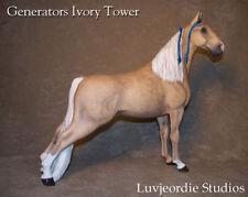 Breyer Repaint CM Dappled Palomino TWH Tennessee Walking Horse Stallion