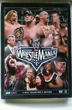 WWE - Wrestlemania XXII (DVD, 2006, 3-Disc Set)