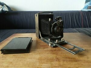 Compur Contessa Kamera Carl Zeiss tessar f15cm.