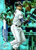 2020 Topps Update Giancarlo Stanton Rainbow Foil U-229 2017 All Star Marlins