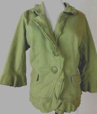 .NICK & MO Women's Light Green 3/4 Sleeves 100% Cotton Size L XL r29