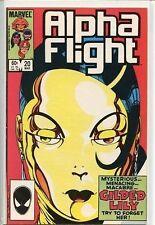 Alpha Flight 1983 series # 20 very fine comic book