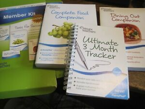 Weight Watchers Points Plus MEMBER KIT 2010-diary/dining out companion/FOOD COMP