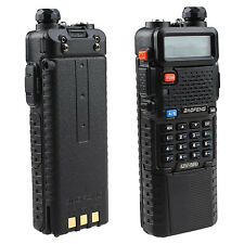 2 Way Police Handheld Radio Scanner Portable Digital Transceiver Fire FM Antenna