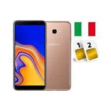 SAMSUNG GALAXY J4 PLUS DUAL SIM SM- J415 32GB GOLD GARANZIA ITALIA NO BRAND