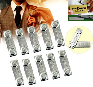 Neodymium Magnets TAG HOLDERS for Clothes ~ MAGNETIC NAME BADGES ID Fasteners