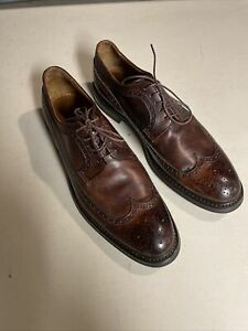 Franceschetti Oxford Shoes Handmade In italy Size EU43 US 10 Excellent Condition