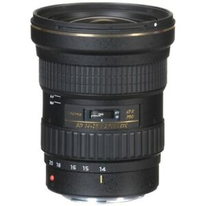 Tokina AT-X PRO DX 14-20mm f/2.0 Wide Angle Zoom Lens - Canon EF Mount