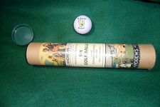 Six Golf Balls with St. Andrews Crest - From the Home of Golf - in Tube - New!