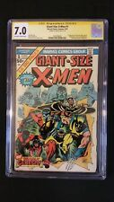 GIANT SIZE X-MEN #1 CGC 7.0 SS SIGNED STAN LEE WOLVERINE 1ST APPEARANCE NEW TEAM