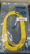 New C2G LC-LC 9/125 OS2 Duplex Single-Mode PVC Fiber Optic Cable 10M 25977