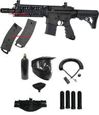 All Black New Tippmann Tmc Tactical Magfed Paintball Gun Magazine Fed Combo Co2