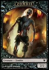 4x Jeton zombie 9 (token zombie) Innistrad FRENCH