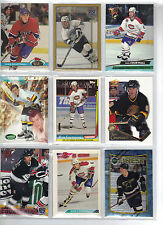 Lot of 73 Different Russ Courtnall Hockey Card Collection (Battle of the Blades)