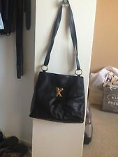 Vintage black bag by Paloma Picasso