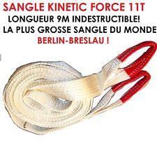 BESTIALE!  ENORME SANGLE KINETIC 9M 11T! DEPANNAGE RALLYE VHC RALLYECROSS FOLCAR