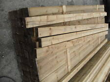 3m x 100mm x 50mm fence rail timber joist frame treated