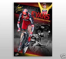 Cadel Evans 2011 Tour De France Sports Print