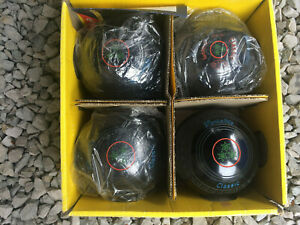 Henselite Classic Lawn Bowls Set of 4 Size 5H(Heavy) Brand New