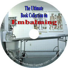 6 Books on CD, Ultimate Collection on Embalming, Post-Mortem, Anatomy, Embalm