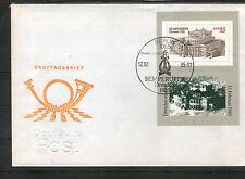 Briefmarken der DDR (1981-1990) als Bedarfsbrief