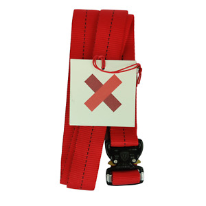 NEW Best Made Co Red Riggers Belt with Cobra Clasp Size Medium