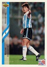 Nestor Craviotto Argentina Upper Deck #235 World Cup USA '94 Soccer Sport Card