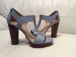 New Michael Kors Sandals Leather Heels  US 9,5 M